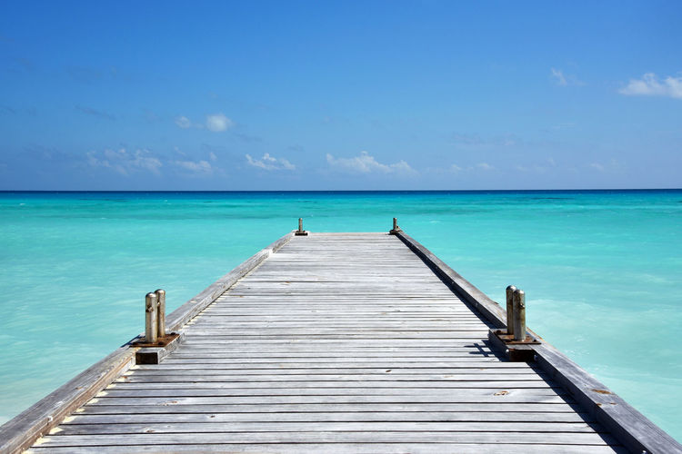 Beach Beauty In Nature Blue Calm Cloud - Sky Horizon Over Water Idyllic Maldives Nature No People Non-urban Scene Ocean Outdoors Pier Scenics Sea Seascape Shore Sky Tourism Tranquil Scene Tranquility Vacations Water