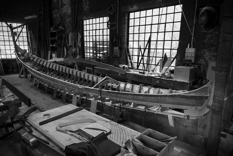 Gondola workshop Indoors  Window Old Day No People Factory Architecture Built Structure History Industry The Past Machinery Gondola Craft Workshop Venice Italy Tool Boat Construction Design Tradition Wood - Material Perfection Capture Tomorrow EyeEmNewHere