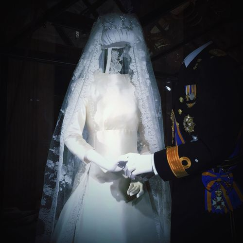 Paleis Op De Dam Exhibition 50hrs(null) Nonstop Kingsday The Netherlands Wedding Dress Queen Maxima IPhoneography Visual Creativity
