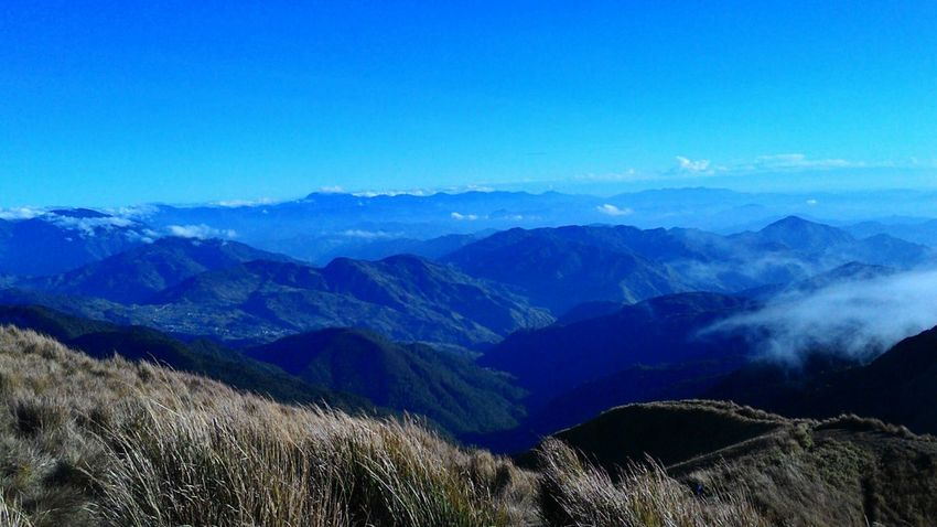 Mt.pulag Hike Mountains Travelph Wanderlust Natural Beauty Landscape Nature Mountains And Sky