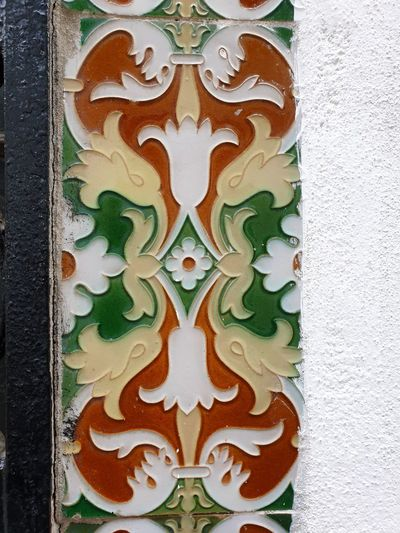 Tiles on a wall