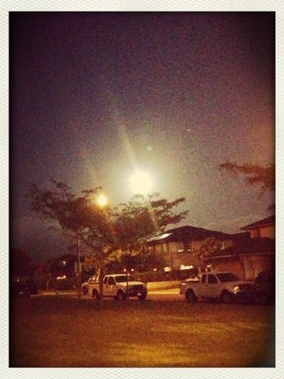 Whats Brighter? The Moon Or Street Light?