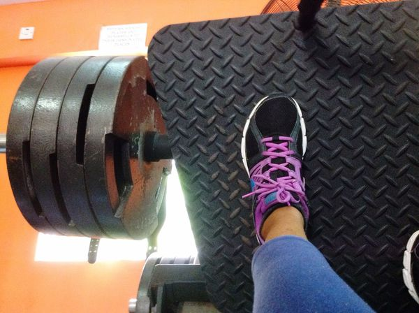 Lifting can be therapeutic Gym