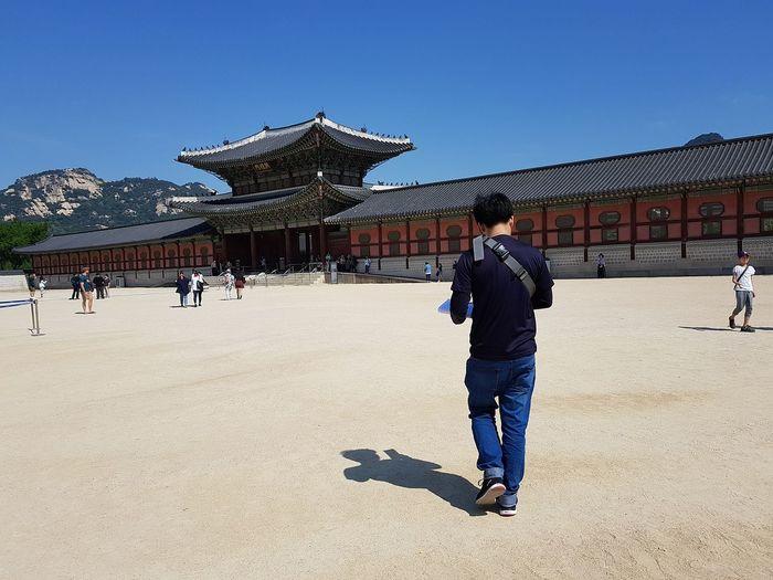 Joseon Dynasty 5 CenturiesGyeongbokgung Palace, Seoul My Son Trip To Seoul Tripwithson2017 Seoulspring2017 Seoulmay2017 Southkorea Seoul