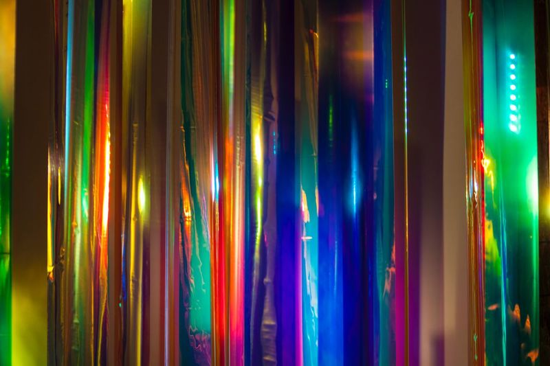 art Multi Colored Full Frame Indoors  No People Side By Side Choice Backgrounds Variation Pattern Arrangement Textile Still Life Close-up In A Row Illuminated Large Group Of Objects Retail  Hanging Decoration Lighting Equipment