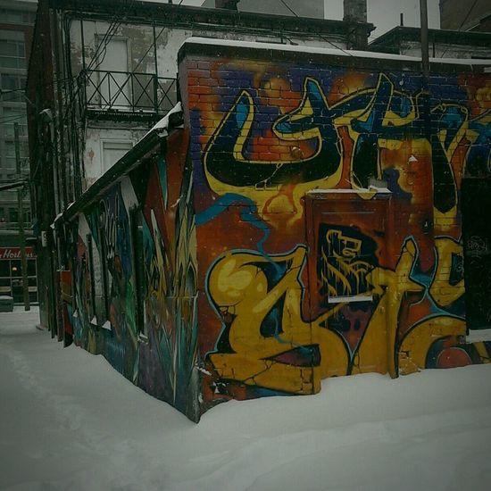 Queen West Snow Toronto