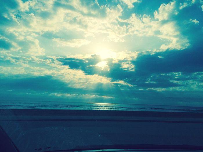 Nature Beach Sun Sunset