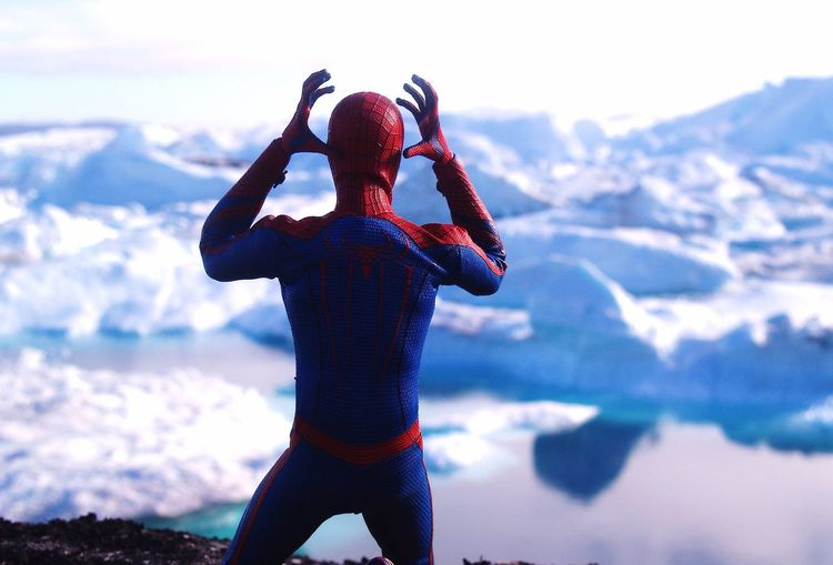 where the hell am I? The Real Greenland Check This Out Nature Hot Toys Spiderman Spider-man Toy Toy Photography Toys Toyphotography Naturephotography