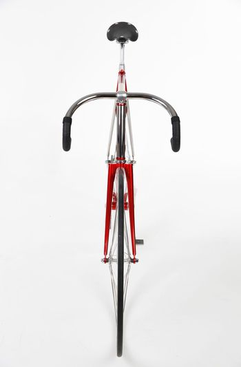 Meerglas Bikeframe Bicycle Rack White Background Red No People Studio Shot Day Outdoors Transportation Land Vehicle Wheel Bicycle Vitality