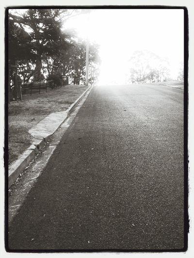Change Your Perspective walking uphill Road Walk