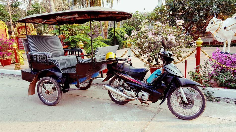 Transportation Mode Of Transport Land Vehicle Bicycle Tuktuklovers Tuk Tuk Cambodia