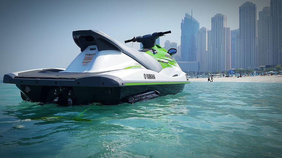 Jetski fahren :) Jetski Dubai Jumera Beach