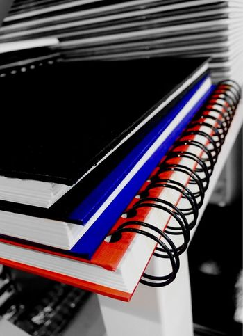 Note Pads Paper Stationary Paper View Books Display Art Materials Pads Stacked Stacked Up Pile