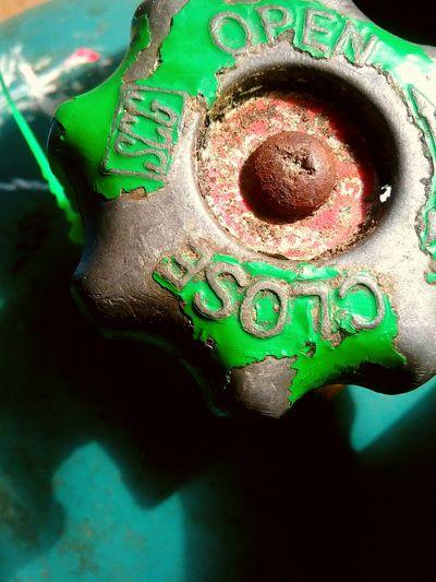 Green Close-up