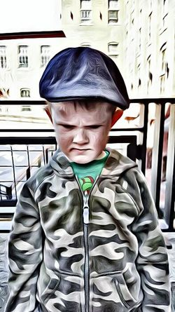 Front View Focus On Foreground Casual Clothing Toughness Toughguy Tough Kid Cartoonized Kids Childhood Kids Being Kids Cartoon Me Cartoon Effect  Cartoon Fotos Colletion Eyeem Official©