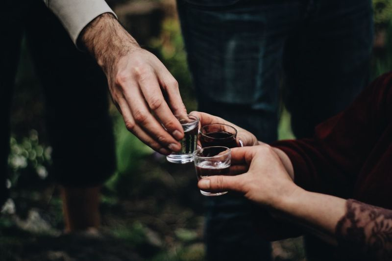 Long fingers 😂 Adult Vodka🍹 Drinking Glass Drinks Party Human Hand Hand Human Body Part Holding Real People Midsection Drink Focus On Foreground Refreshment Food And Drink Lifestyles Alcohol Outdoors Container Finger Men Glass Exploring Fun