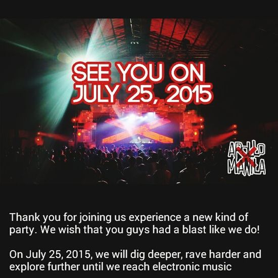 Can't wait to join ApolloXManila on July 25! ❤🎁🎉🎈 Party Hard Rave Drinksup Manila, Philippines