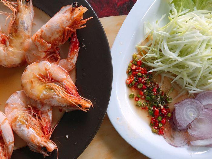 seafood Food Close-up Fresh Seafoods