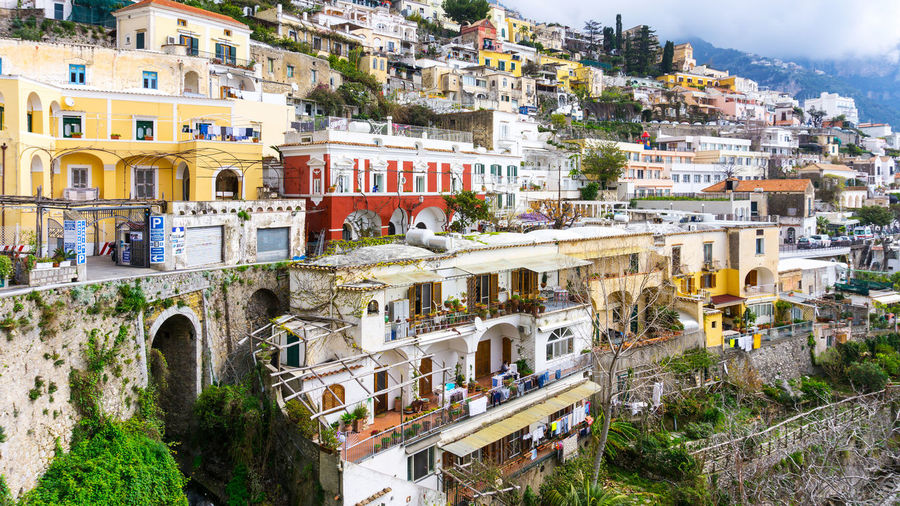 view on an old town in Italy Architecture Beautiful Built Structure City Day Italy Landscape Residential Building Residential District Tourism Town Travel Destinations Vintage