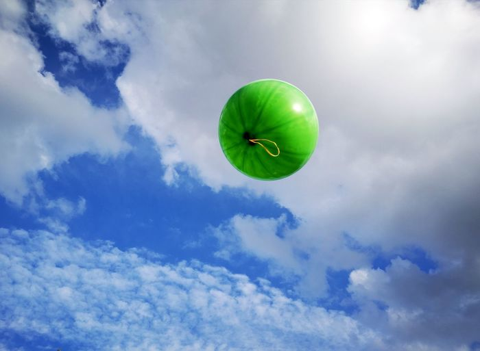 Balloon in the