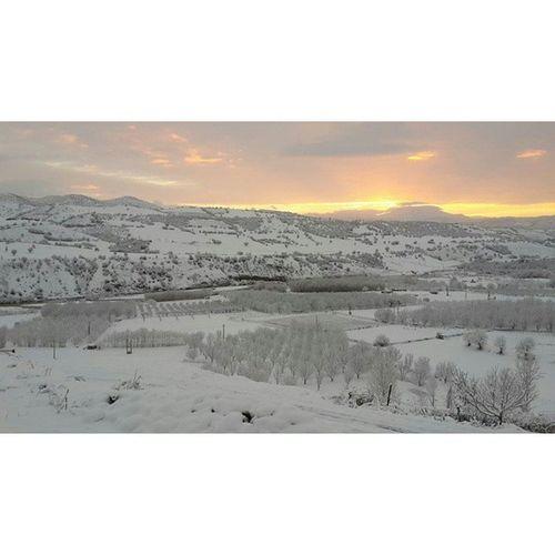 Photography Sardasht Wawan Snow sunrise