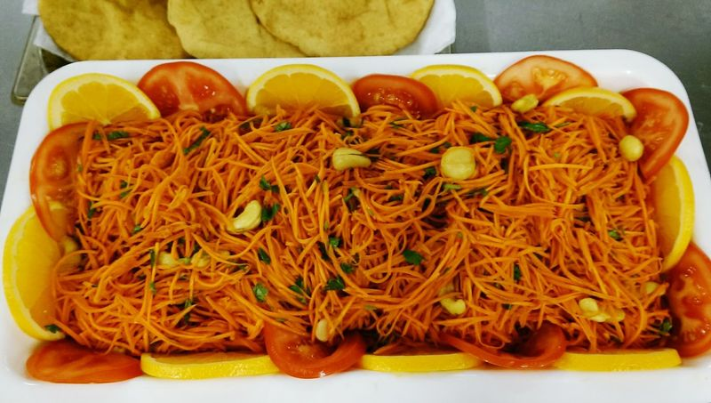 Noodle salad....
