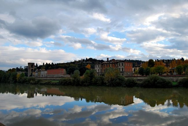 Firenze, Italy Architecture Building Exterior Built Structure Cloud - Sky Day House Lake Nature No People Outdoors Reflection Sky Water Waterfront