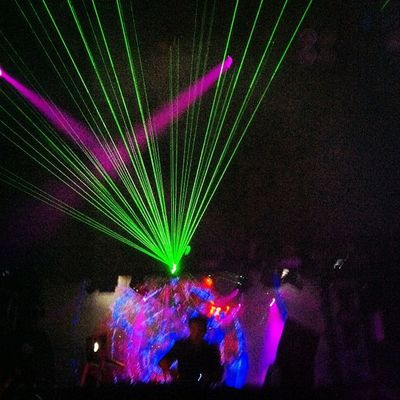 Lasers Lightshow Exchangela Dance