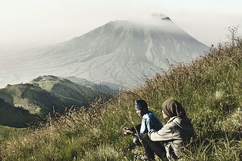 Mountain Range Landscape Classic Adventure Club Merapi Merbabu People And Places Enjoy The New Normal Go Higher