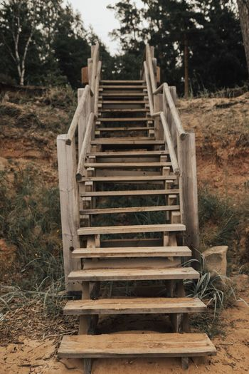 Steps Steps And Staircases Staircase Tree No People Day Outdoors Nature Beach Sand Sand Dune Sand & Sea Stairs Stair Climb Steps Breathing Space The Week On EyeEm