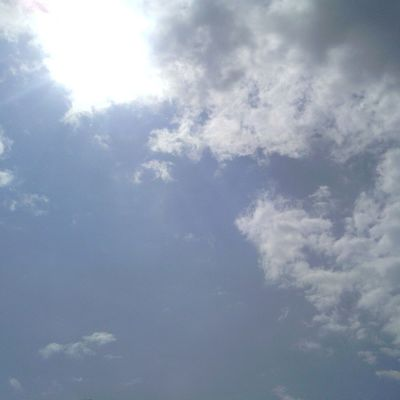 Beauty is all around us. Stop for a minute and take it all in Sky Beautiful LovinLife Sun Clouds Stop Minute