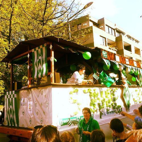 Werder Fan-Club Kramermarktsumzug Kramermarkt Oldenburg OL