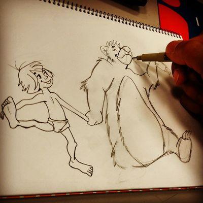 Cartoon Disney Drawing Art
