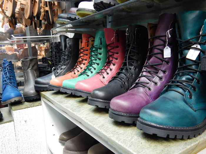 Shoe Shoes Colours Colorful High Boots Boots Boots❤ Fashion Hipster EyeEm Fashionable Leather Black Blue Purlpe Orange Color Green Shop Shopping ♡ Red Triquaz Resist Art Is Everywhere The Photojournalist - 2017 EyeEm Awards The Street Photographer - 2017 EyeEm Awards