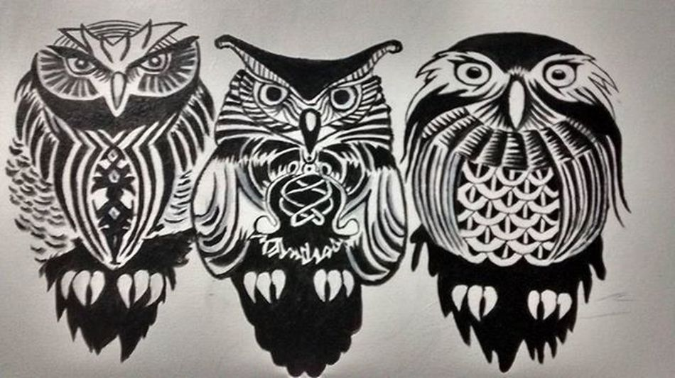 Art Arte Buhos Owls Buzios Buziosrj Rj40graus Riodejaneiro Brasil Brazil