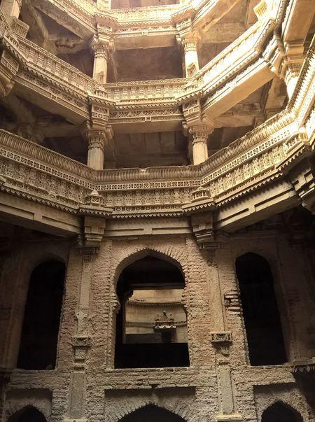 Rani ki vav Adalaj Arch Architecture Built Structure No People History Gujarattourism Ahmedabad India Historical Building
