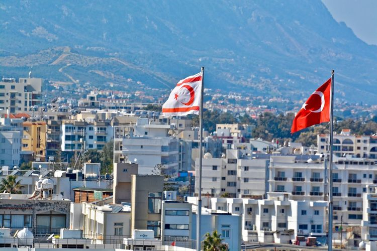 Kyrenia / Architecture Building Exterior Built Structure City City City Life City View  Citylife Cityscape Cityscape Day Flag Holiday Kyrenia Moments Nature No People Outdoors Patriotism Sky Travel Destinations