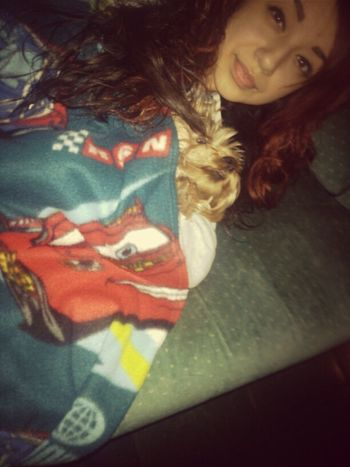 Cuddling With My Baby