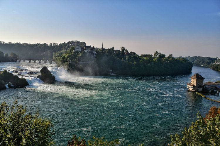 """2.) Hello my friends! Here are now the four best pictures of the """"Rheinfall"""". You have chosen this. Thanks a lot for this! Now it's about the best picture. Which one do you choose? 1, 2, 3 or 4? 2.〰 Rheinfall🌊 🇨🇭 Switzerland Thank You My Friends🍀"""