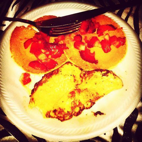 Breakfast wifey made me ,