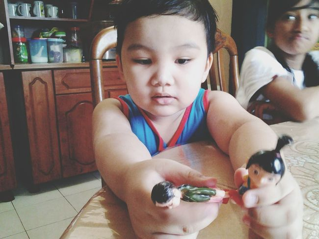 my cutest cousin , awuumm :) :*