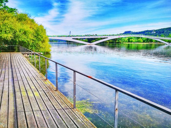 As Docas. Water Outdoors Travel Destinations Day Bridge - Man Made Structure Vacations Nature Nautical Vessel Beauty In Nature Riverside Photography Horizon Over Water Springtime