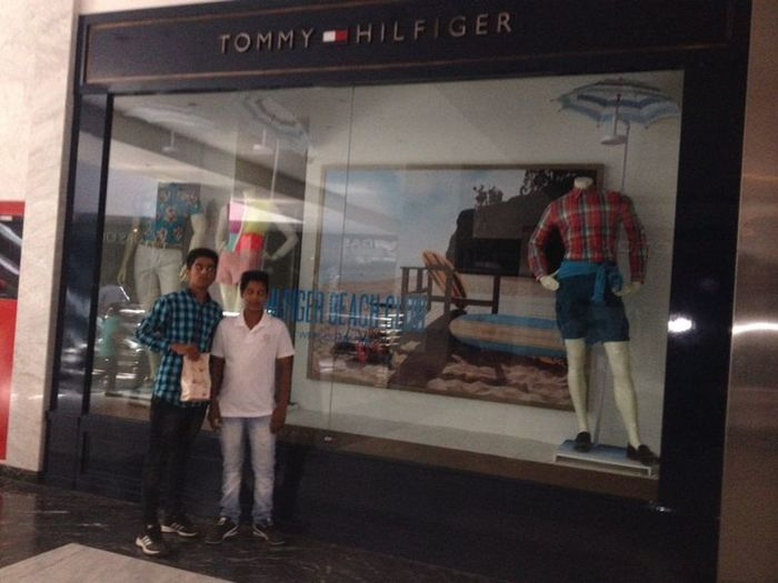 l and my brother in tommy hilfizer