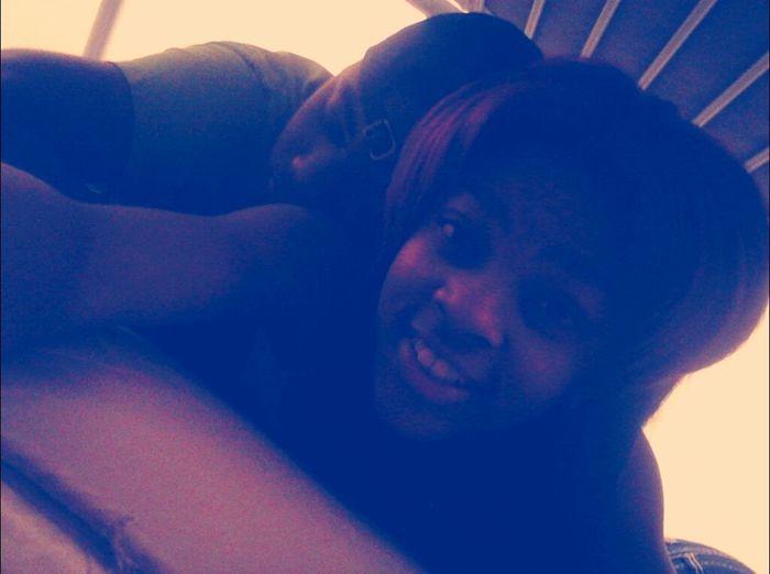 me and my boyfriend yesterday!