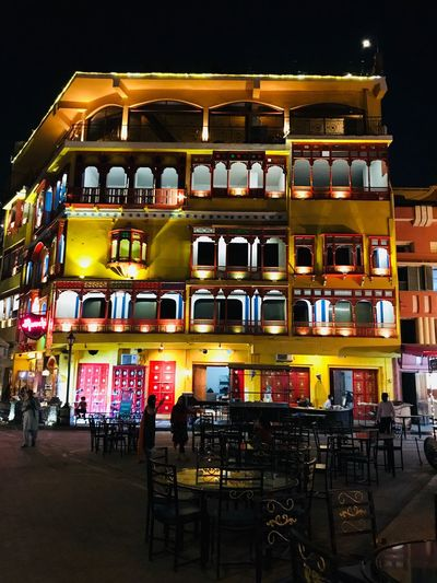 Night Illuminated Built Structure Architecture Building Exterior Connected By Travel Tadaa Community Theholysin Pakistani Traveller Lahore Pakistan History Tourism Travel Destinations Restaurant Theholysin