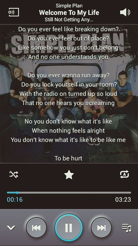 Simple Plan ♥ Welcome To My Life. Only Love ♡♥