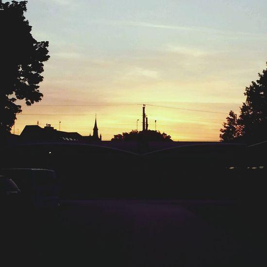 Sunrise Silhouette Summer ☀ Ingress