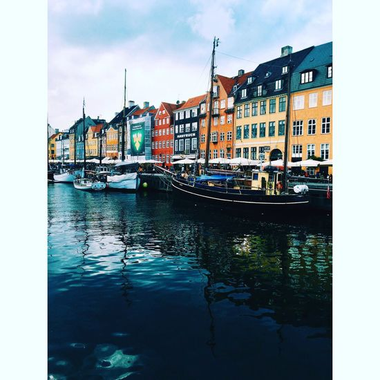 Beautiful harbour Copenhagen, Denmark