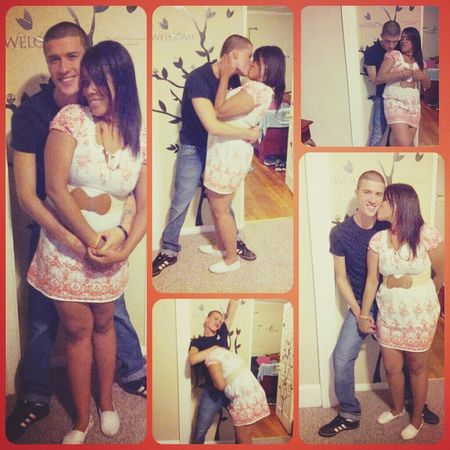 so in.love with him >3 cant wait till he comes back home Couple Cuteness Fun Times