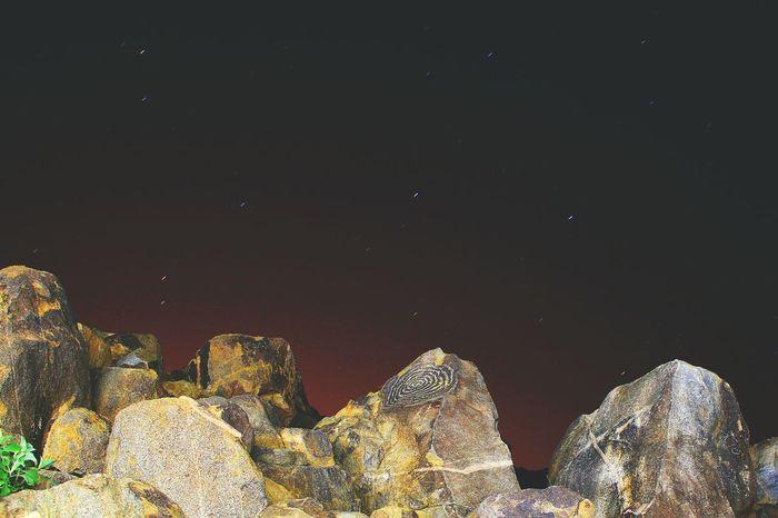 National Park Star Light Rock Art Petroglyph Native American Shadows Winter